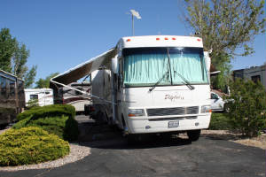 Our Motorhome in the RV Park