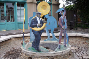 New Orleans Street Sculpture