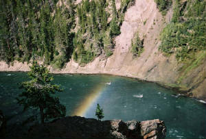 Rainbow Over the Yellowstone River